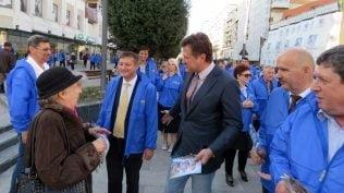 """GALERIE FOTO: Deputatul Ionel Palar: """"Bacauanii sustin PNL si pe Klaus Iohannis!"""""""