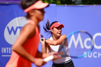 Gabi Ruse si Jacqueline Cristian pierd finala de dublu de la BRD Bucharest Open