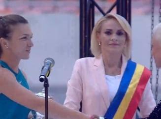 Gabriela Firea, despre premierea Simonei Halep la National Arena: E clar ca am gresit