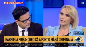 Gabriela Firea, despre sarma din colon: daca a fost o mana criminala?