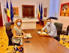 Gabriela Firea s-a intalnit cu Dan Cristian Popescu, viceprimarul PNL candidat la Primaria Sectorului 2. Ce au discutat cei doi