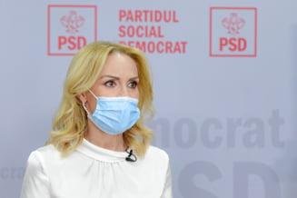 """Gabriela Firea si-a depus candidatura pentru un nou mandat la Primaria Capitalei: """"Am facut-o cu gandul la bucuresteni"""""""