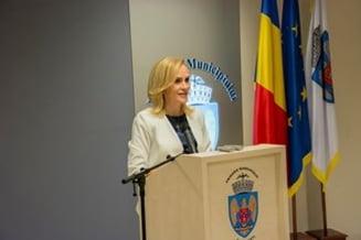 Gabriela Firea sustine ca nu a ordonat taierea vreunui copac din Bucuresti