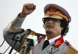 Gaddafi, cel mai bogat om (mort) din lume