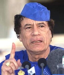 Gaddafi catre liderii arabi: ati putea avea aceeasi soarta ca Saddam!