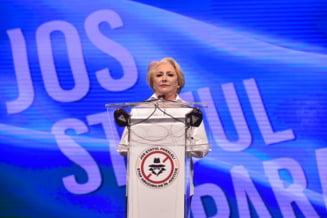 Gafa Vioricai Dancila din mesajul transmis de Ziua Imnului National UPDATE Mesajul a fost modificat pe site-ul Guvernului