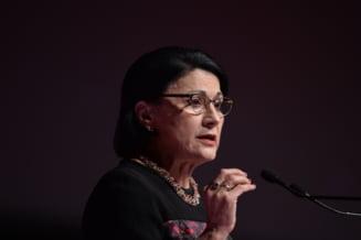 Gafa a ministrului Educatiei, Ecaterina Andronescu: Intorcandu-ne aici in judetul Alexandria
