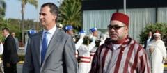 Gafa diplomatica de proportii: Regele Marocului, controlat de politia spaniola