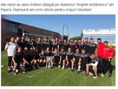 """Gafa la Voluntari: Alb-""""visinii"""" au adus Cupa Romaniei la stadion"""