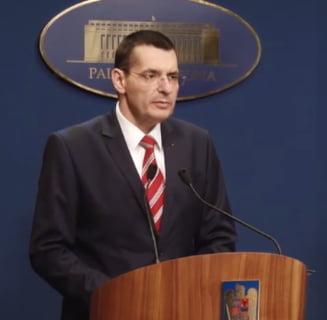 Gafa ministrului Toba cu referire la pompierul ucis in incendiul de la Jilava