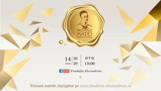 Gala Matei Brancoveanu 2020: un format inedit, 5 premii pentru tineri remarcabili