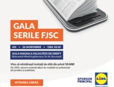 Gala Serile FJSC - 10 ani: premii de excelenta pentru profesionistii care au contribuit la formarea studentilor