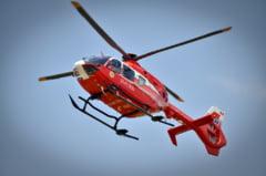 Galati: Un copil inecat in piscina a fost preluat in stare grava de elicopterul SMURD
