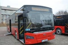 Galerie foto   Operatorul de transport Alitrans si-a prezentat noile autobuze