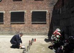 Ganduri despre Auschwitz de la Iohannis, Ponta si Elena Basescu