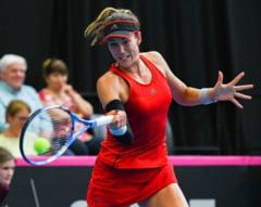 Garbine Muguruza, invinsa in Fed Cup de o jucatoare din afara Top 100 WTA