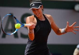 Garbine Muguruza a invins-o categoric pe Maria Sharapova in sferturi la Roland Garros
