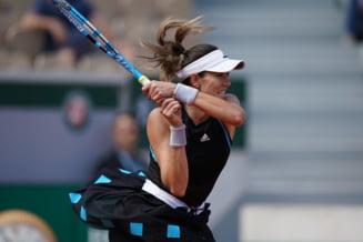 Garbine Muguruza avanseaza in turul secund la Roland Garros cu mari emotii