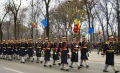 Garda de Onoare a Romaniei va defila marti la Arad pentru prima oara.