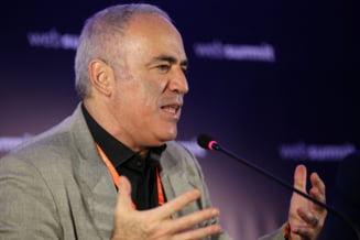 """Garry Kasparov, despre """"intalnirea anului"""" de la Geneva: """"Indiferent ce se intampla pe 16 iunie, Putin deja a castigat runda asta"""""""
