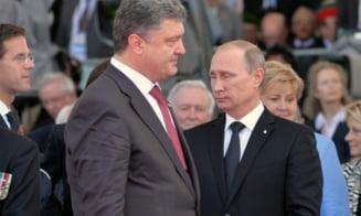 Gata razboiul din Ucraina? Porosenko spune ca s-a inteles cu Putin. Ce zice Kremlinul