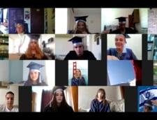 Gaudeamus igitur in distantare sociala la Complexul Educational Laude-Reut (VIDEO)