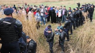 Gazele de sist arunca Pungestiul in aer: Explicatiile jandarmilor dupa confruntarile cu localnicii (Video)