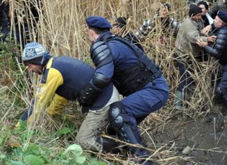 Gazele de sist scot din nou oamenii din case la Pungesti. Protest de duminica