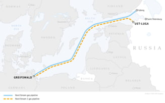 Gazoductul Nord Stream 2, ce leaga Rusia de Germania, e elefantul din camera UE