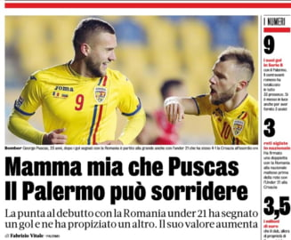 Gazzetta dello Sport, impresionata de un fotbalist roman: Mamma mia!