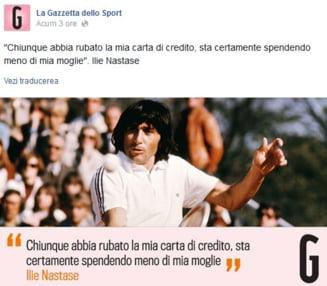 Gazzetta dello Sport, uluita de o declaratie a lui Ilie Nastase