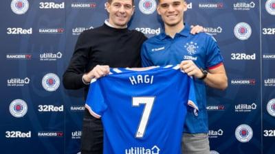 Genk anunta transferul lui Ianis Hagi la Rangers, dar apoi sterge anuntul!