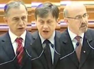 Geoana, Antonescu si Marko merg cu Iohannis pana in panzele albe