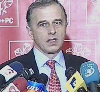 Geoana: Campania prezidentiala nu a fost negociata la formarea coalitiei
