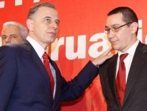 Geoana il ironizeaza pe Ponta si anunta ca nu pleaca din PSD