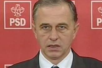 Geoana risca sa fie suspendat, din nou, din PSD?