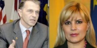 Geoana si Udrea, intepaturi pe prezidentiale: Nu orice femeie are sanse - Nici orice barbat n-a avut