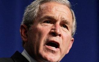 George Bush povesteste iar cum a vazut curcubeul la Bucuresti