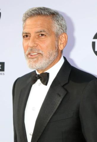 George Clooney a ajuns la spital, dupa un accident cu motocicleta in Italia