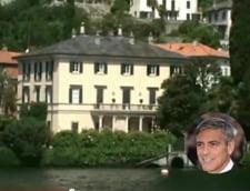 George Clooney casa vacanta lacul Como