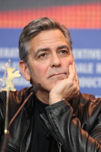 George Clooney construieste un buncar pentru a-si proteja sotia