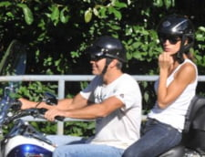 George Clooney si Elisabetta Canalis - primele poze ale cuplului (FOTO)