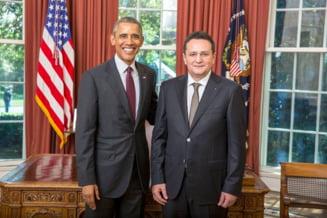 George Maior, ambasadorul Romaniei in SUA: I-a prezentat scrisorile de acreditare lui Obama