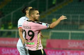 George Puscas o ajuta pe Palermo sa urce pe primul loc in Serie B, cu un gol in prelungiri (Video)