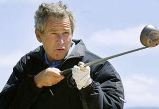 George W. Bush, operat la coloana