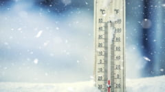 Ger in toata Romania. S-au inregistrat minus 23 de grade la Miercurea Ciuc. Temperaturile in restul tarii