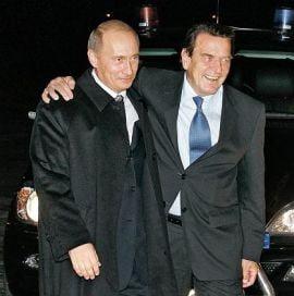 Gerhard Schroeder, membru al Academiei de Stiinte din Rusia