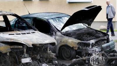 Germania: Masini incendiate, pentru a treia noapte consecutiv