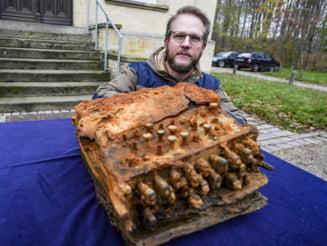 Germania: O masina de criptat ''Enigma'' nazista, descoperita in Marea Baltica, va fi restaurata
