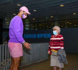 Gest de mare campion: Nadal a implinit visul unei batrane de 93 de ani